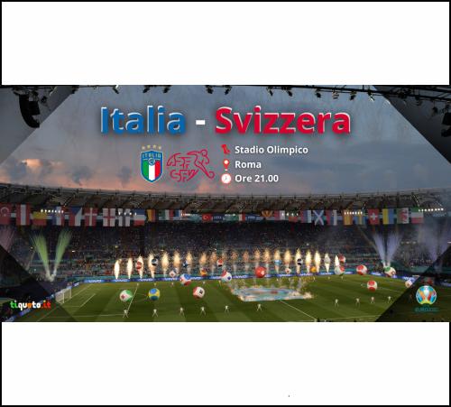 Italia Svizzera Euro 2020